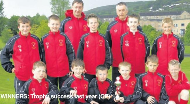 Members of the triumphant Barrhead Boys Club under-13s side of 2007