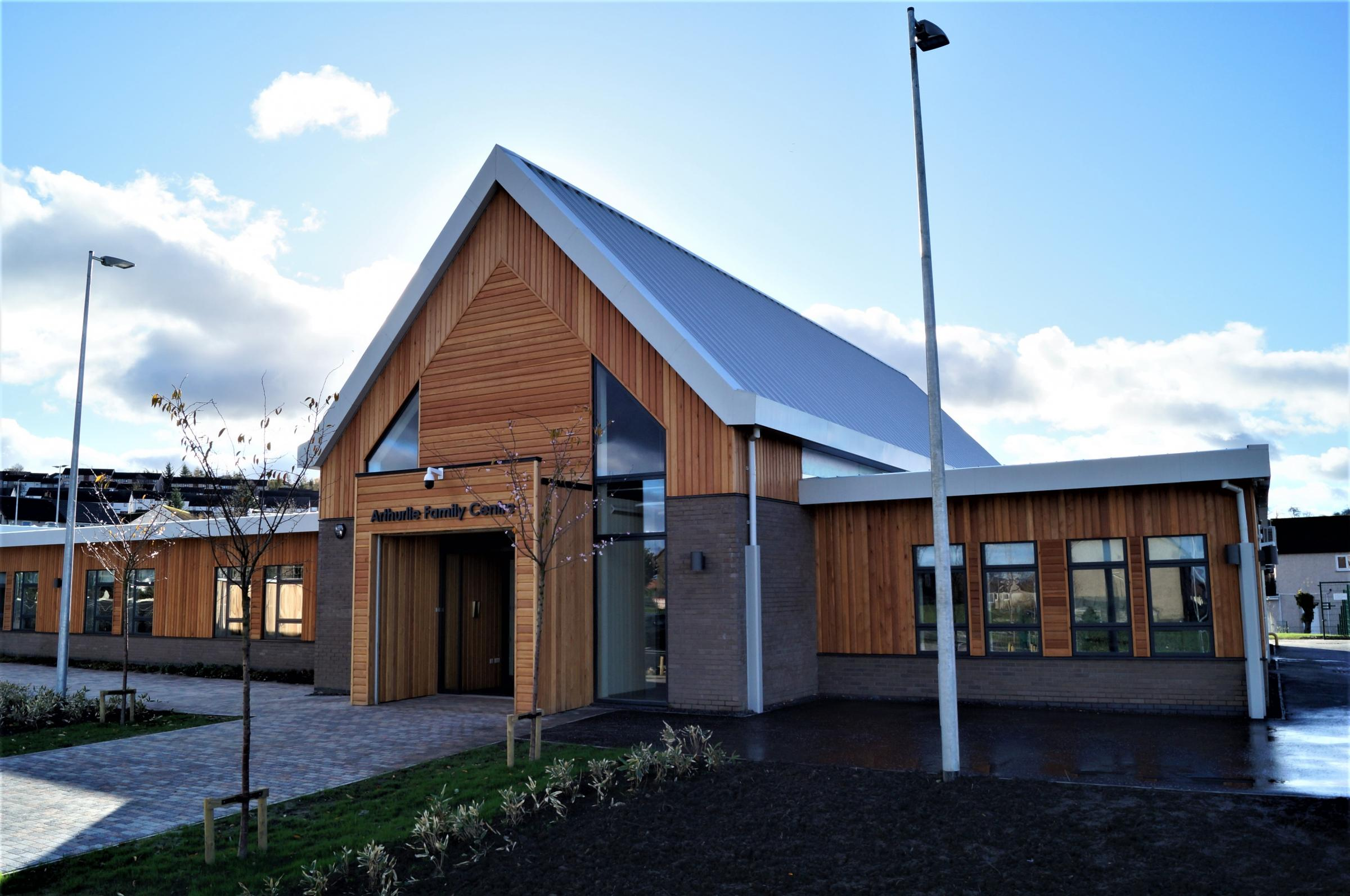 The official opening of the new Arthurlie Family Centre will take place next week