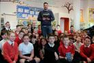Ross Mackenzie kept kids entertained with tales from his books