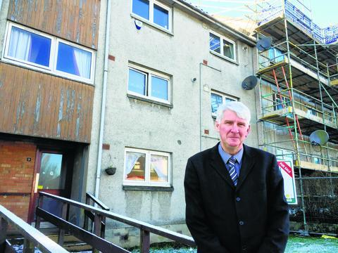 Councillor Danny Devlin says investment is needed to improve East Renfrewshire's housing stock