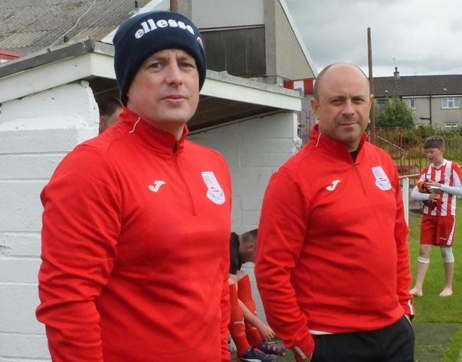 Neilston co-manager Martin Campbell hails goalkeeper Robert Tiropoulos' performance in 1-1 draw at St Roch's
