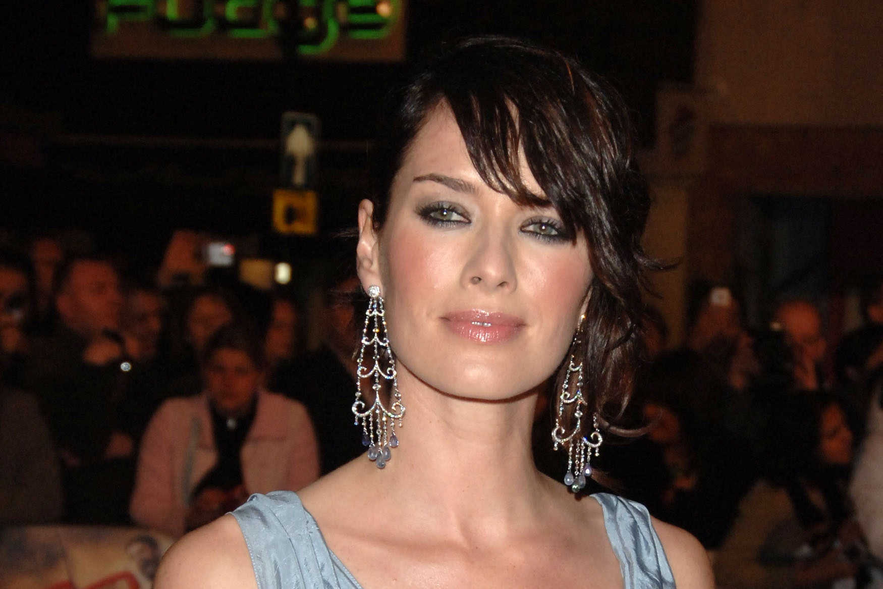 Lena Headey has a small cameo in the wrestling-themed comedy Walk Like A Panther (Ian West/PA)
