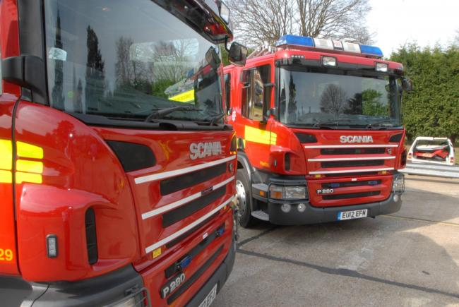 Fire chief hits out at 'anti-social' fire-setting
