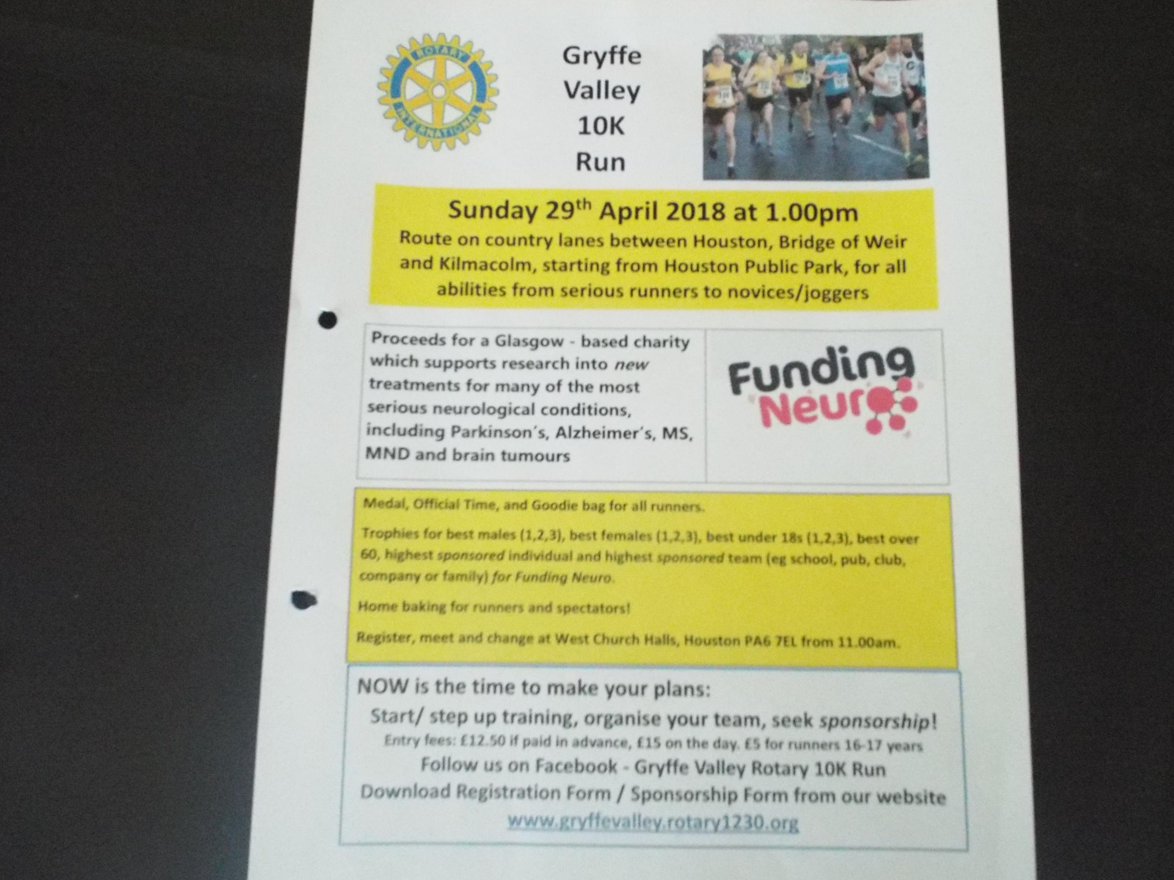 Gryffe Valley 10K Run