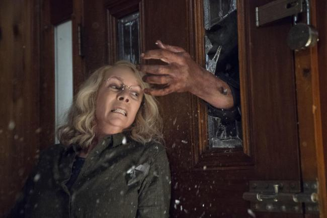 Jamie Lee Curtis stars in the new Halloween movie
