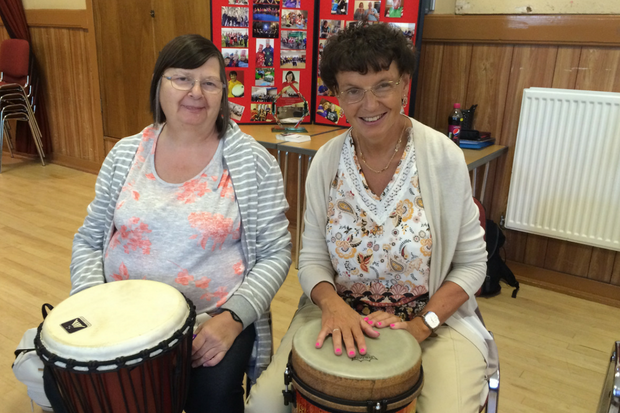 Support of drumming group gave Anne chance to beat her demons