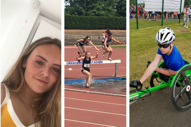 Kirsty Costello, Helen Chong and Luke Deighan will be at the Games in Loughborough