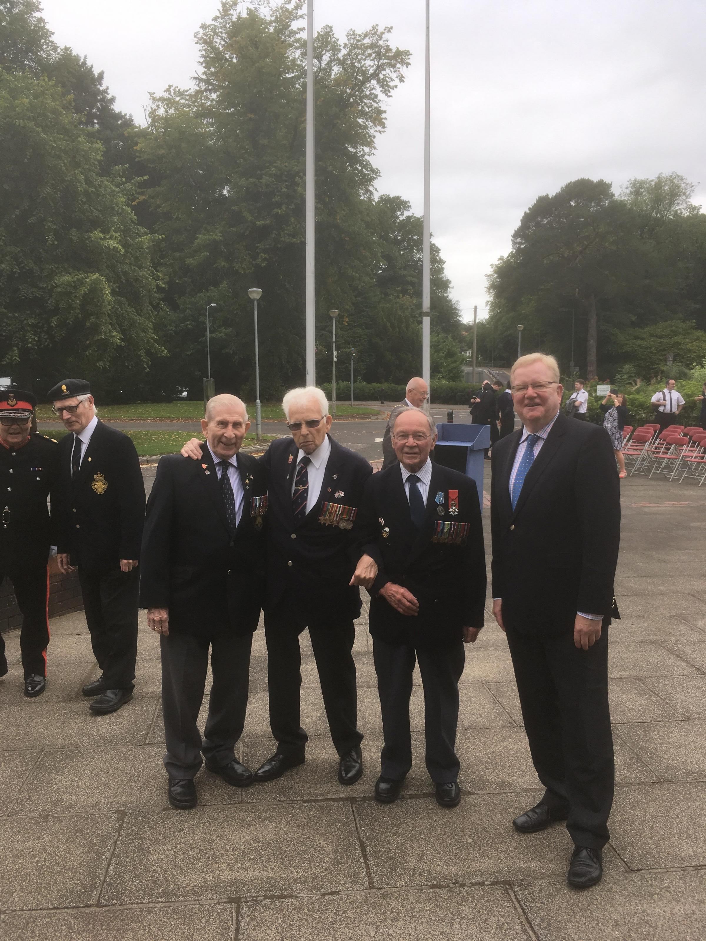 Merchant Navy Day event recognised with Holyrood motion
