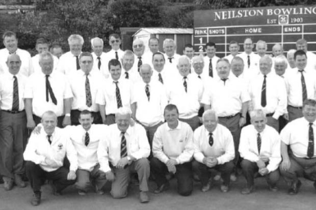Archive: Centenary celebrations for Neilston Bowling Club