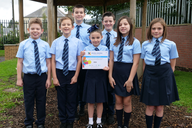 Top digital award for St Thomas' whizzkids