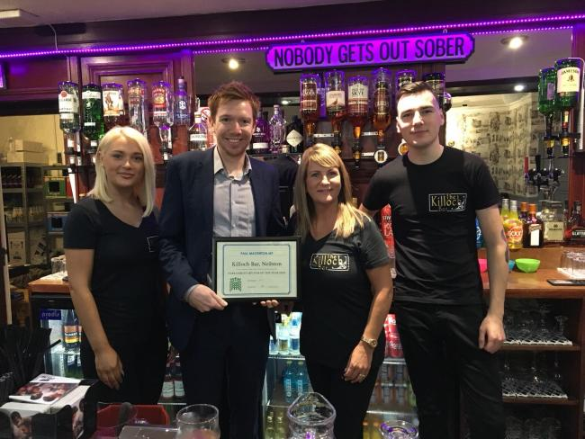Paul Masterton MP: Support poured in for pub contest