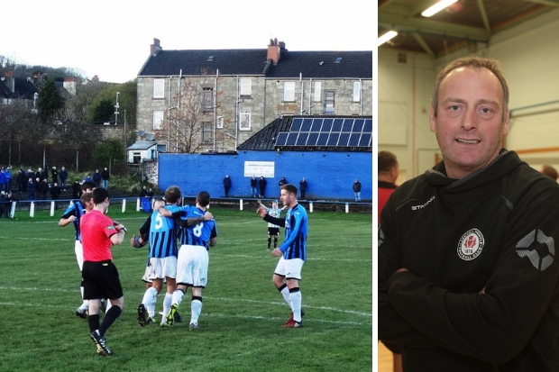 Duncan Sinclair has called on his side to make their home page a fortress (left photo: Robert Burns)