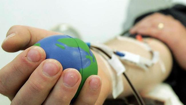 Save lives by making a donation to the blood bank