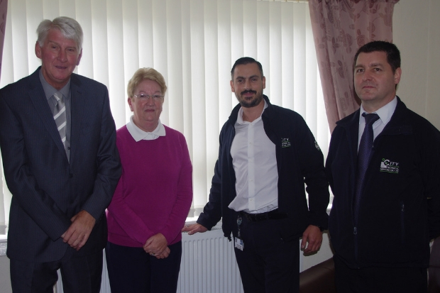 £1million heating investment gives East Ren residents that warm feeling