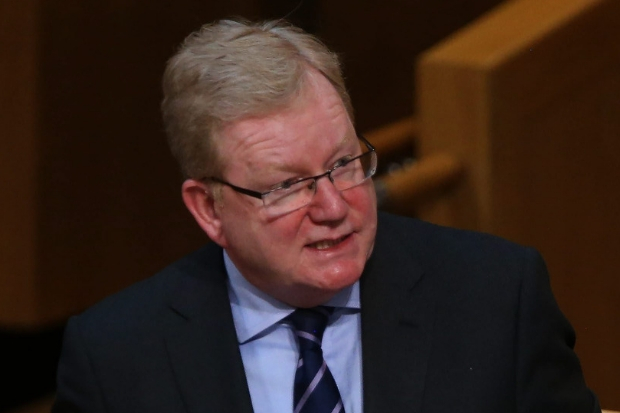 Jackson Carlaw is currently leading the Scottish Conservatives in Ruth Davidson's absence.