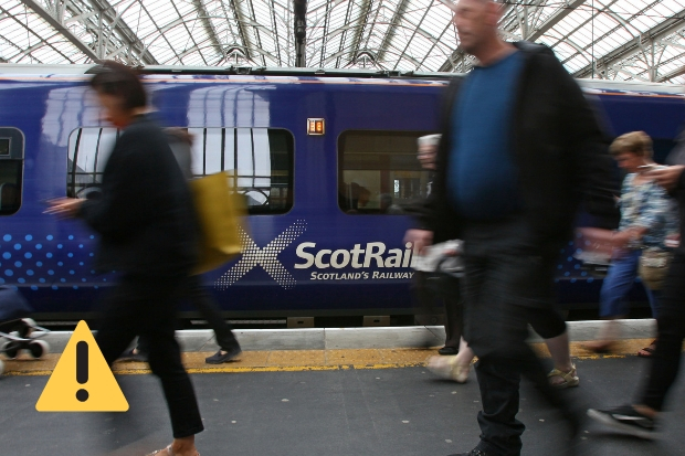 Travel disruption as Glasgow Central services replaced by buses on Sunday