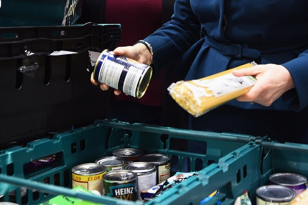 Concerns raised over sharp rise in demand for help at foodbanks