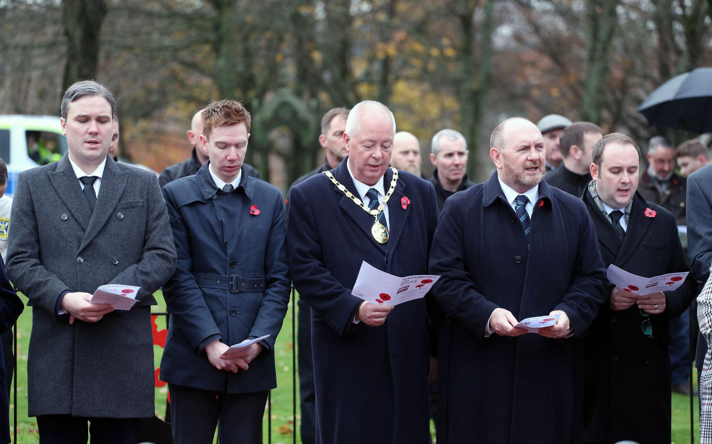 I was honoured to attend events marking 100 years since the end of World War One