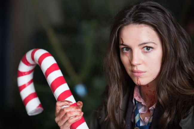 Ella Hunt gives zombies plenty of stick through her starring role in Anna and The Apocalypse