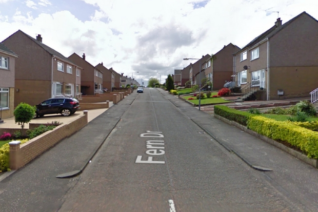 The warning comes after a car was targeted in the town's Fern Drive
