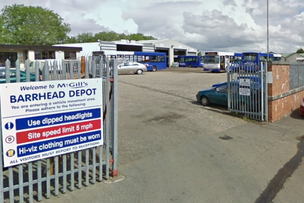 Job fears as McGill's Barrhead depot set to close