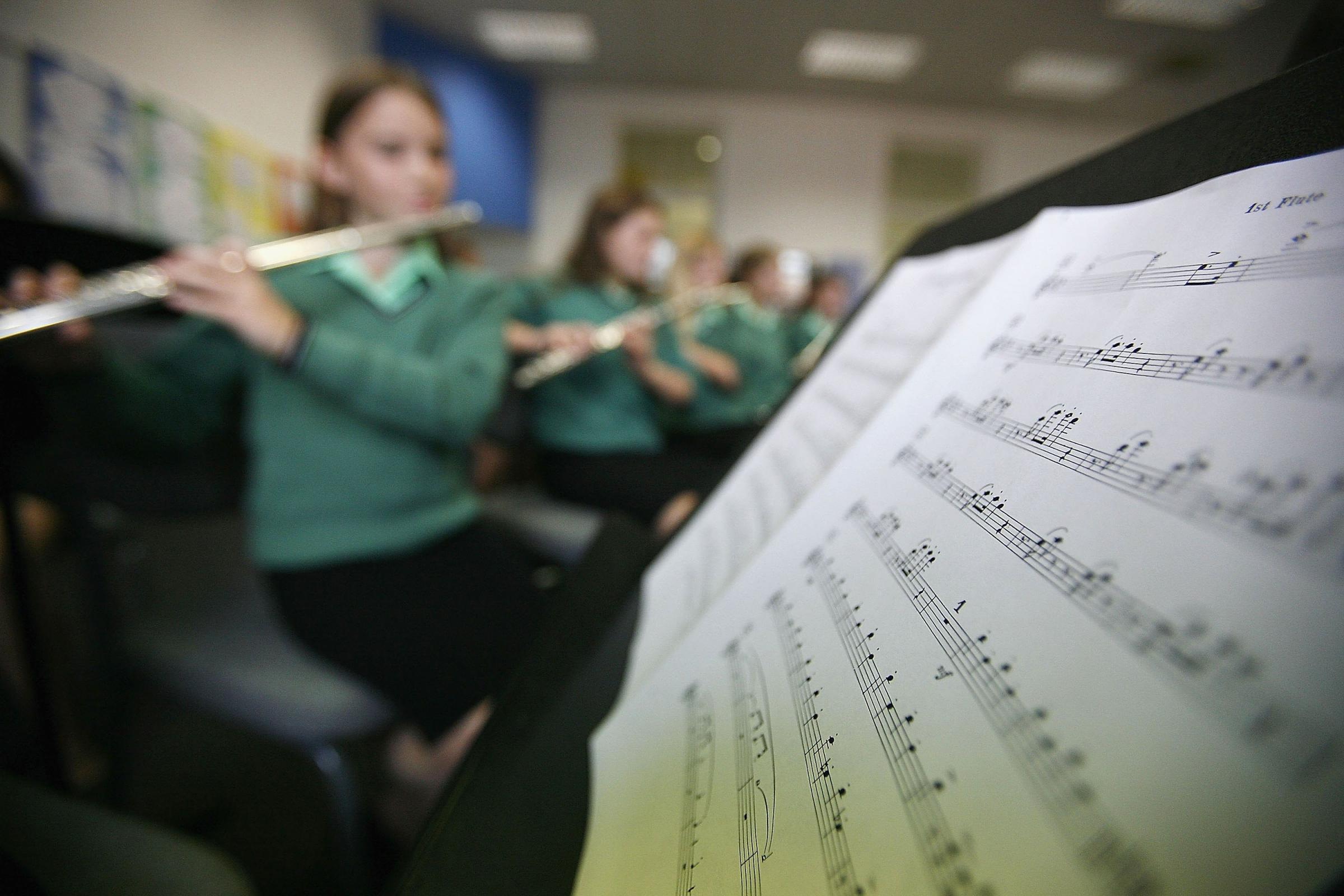 Extra cash to fund creative lessons at schools will be music to the ears
