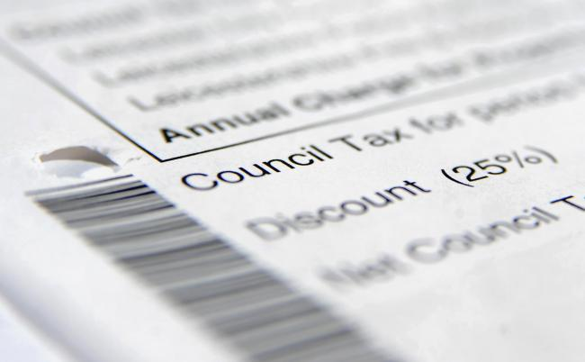 Undated file photo of a council tax bill, as nearly all local authorities in England are planning to raise council tax in the year ahead while vital services remain under pressure, a survey has found. PRESS ASSOCIATION Photo. Issue date: Thursday February