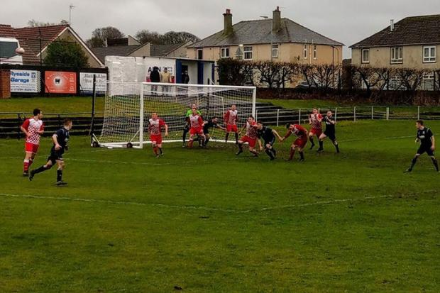 Barrhead News: Neilston get their third to secure a vital three points in Dalry