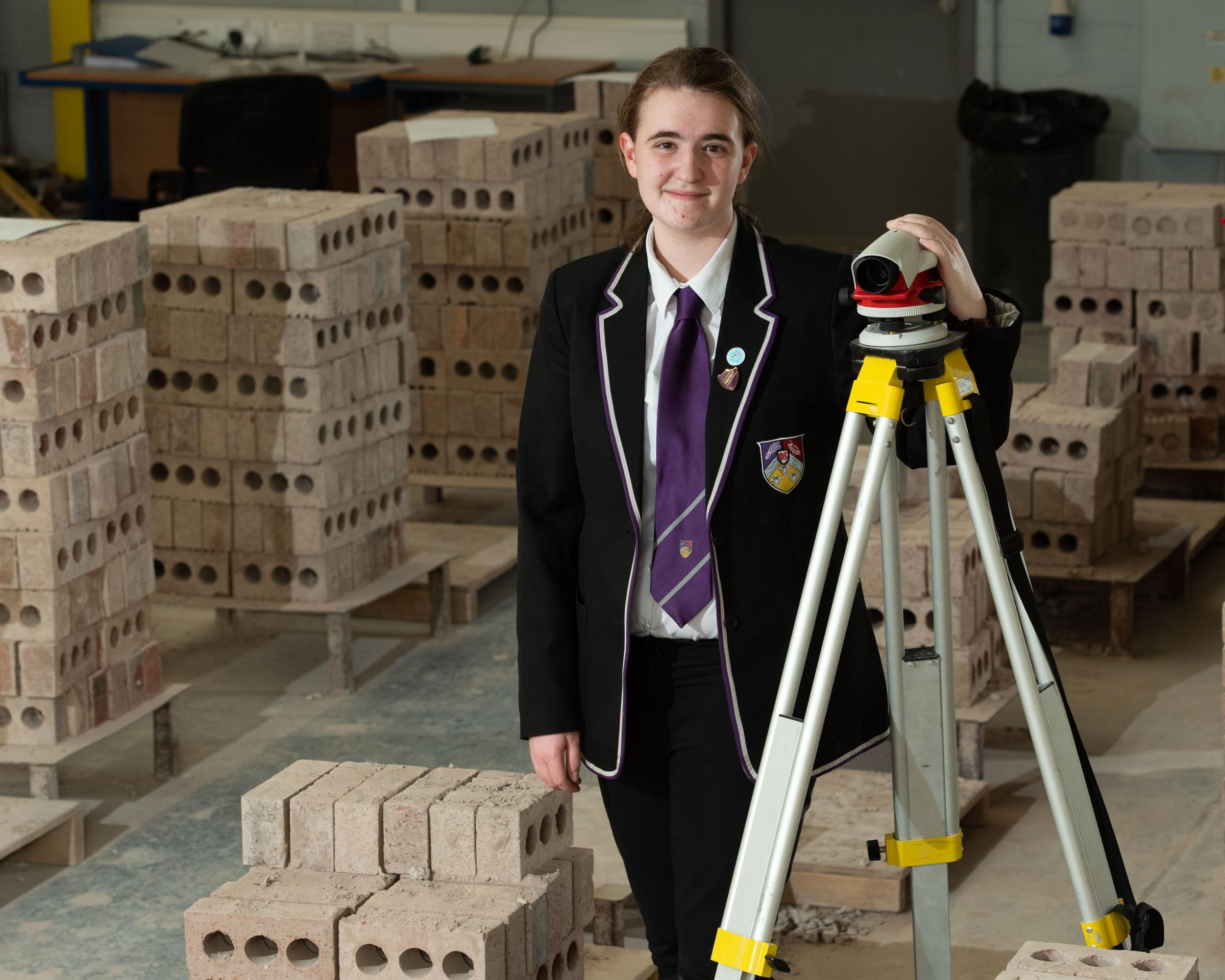 Barrhead pupil puts foundations in place for career path