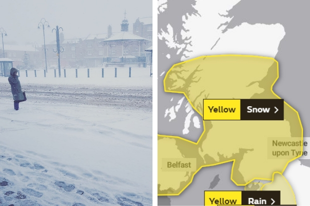 Road, rail, and air travel chaos likely as weather warning issued