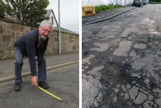 Victory for campaigners as village's crumbling roads gets a new look
