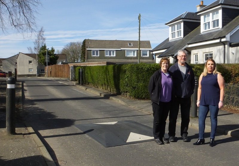 Worried residents call for action to put brakes on speeding motorists