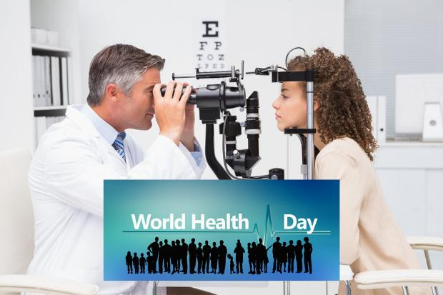 Residents are being urged to have their eyes and ears checked ahead of World Health Day