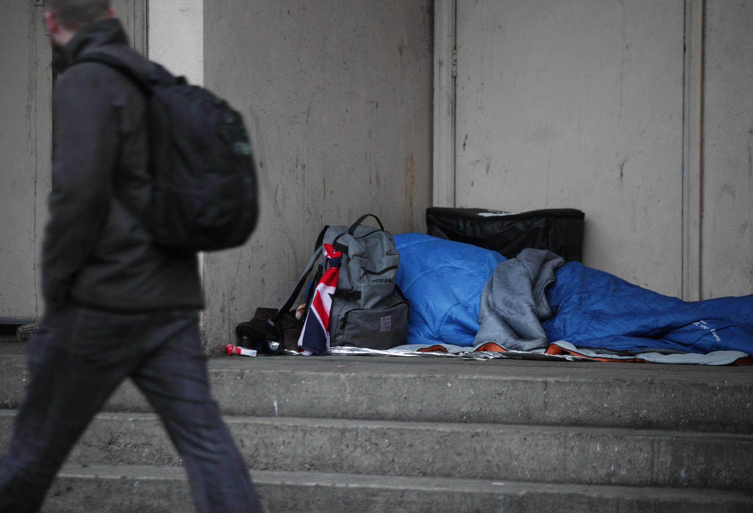 Homelessness causes 'huge pressure' on housing services