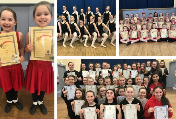 Talented youngsters put best foot forward for dance exams