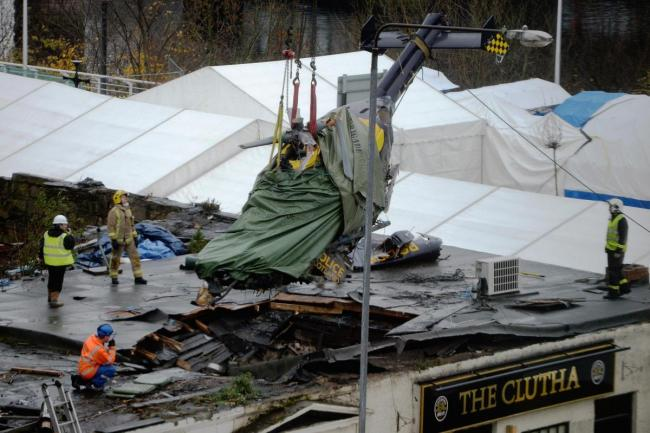 Clutha crash caused by pilot's failure to check fuel pumps, inquiry finds
