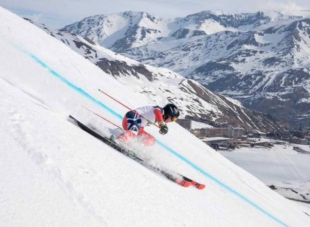Barrhead News: Owen in action as he dominates the field in Tignes, France