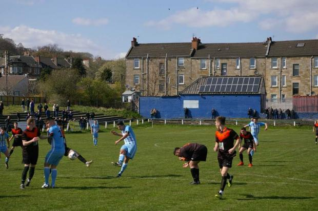 Barrhead News: Arthurlie stuttered to a crucial three points against Irvine Vics at the weekend