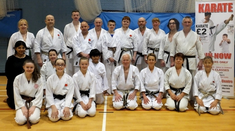 Karate aces take centre stage