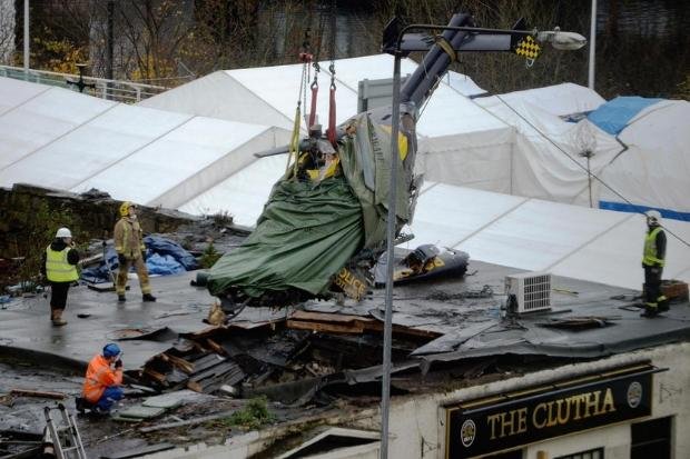 Fiancée of Clutha pilot slams Inquiry for blaming him for disaster - Barrhead News