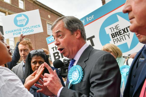 Barrhead News: NIgel Farage's Brexit Party is expected to have a major say in the East Renfrewshire seat
