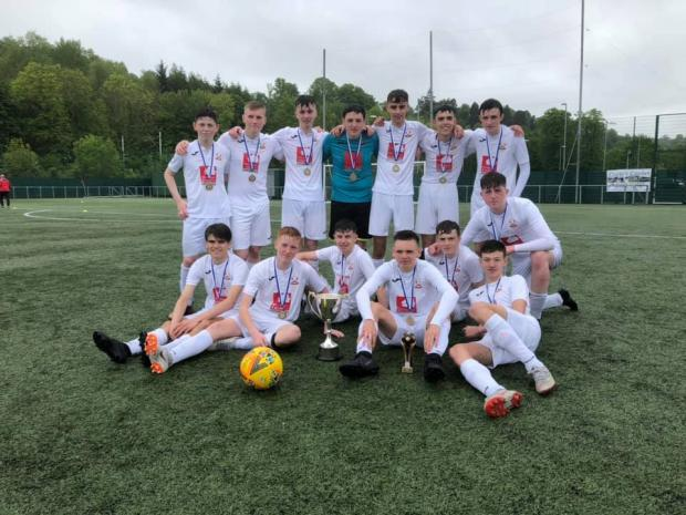 Barrhead News: The Barrhead youngsters clinched their fifth major honour at the weekend