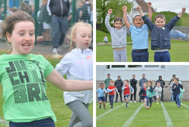 Sports day fun at Neilston school was just champion