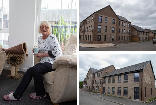 Barrhead's new social housing transforms lives