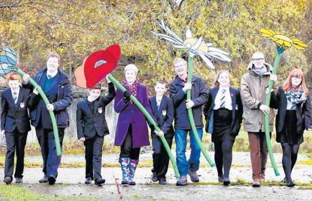 The Grow Wild project was making a big difference in Barrhead