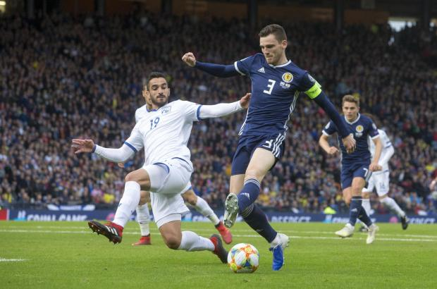 Barrhead News: Scotland captain and Liverpool star Andy Robertson is a former pupil at the school
