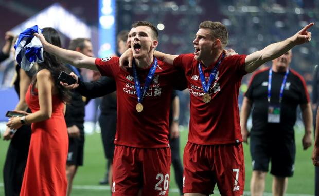 Barrhead News: Andy Robertson recently won the Champions League with Liverpool
