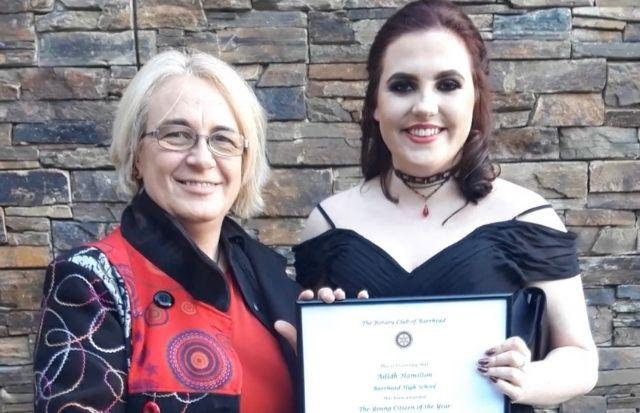 Ailidh was named Young Citizen of the Year